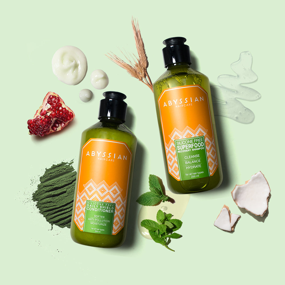 The Clean Team | Shampoo & Conditioner Duo | organic moisturizing shampoo and conditioner