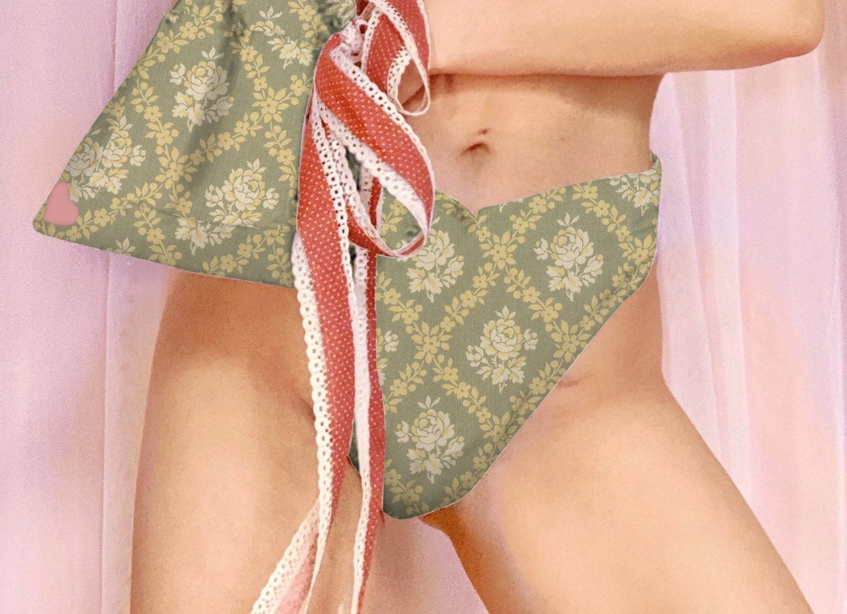 Uptown Abbey Bikini Top/Bottom Sage Green, Limited Edition for Pre-order