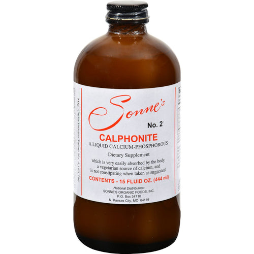 Sonne's Calphonite No 2 Liquid Calcium Phosphorus - 15 fl oz