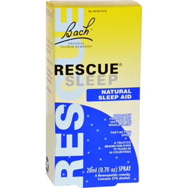 Bach Flower Remedies Rescue Sleep Natural Sleep Aid - 0.7 fl oz