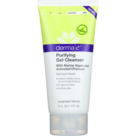 Derma E - Gel Cleanser - Purifying - 6 oz. - 1 each