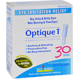 Boiron - Optique 1 Eye Drops - 30 Count