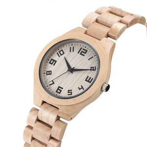 Maple wood watches
