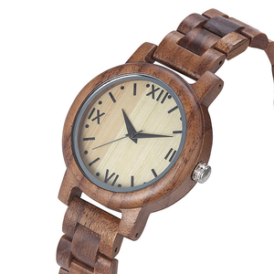 Walnut wood watches