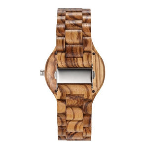 Watches with wooden band