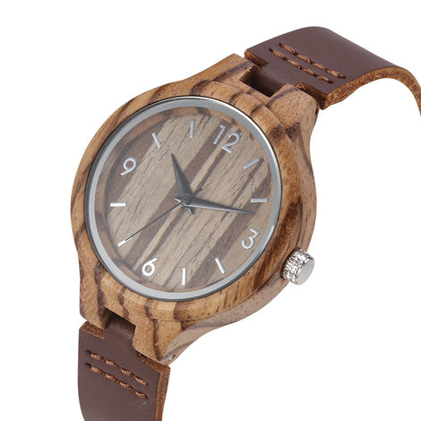 Zebrawood Watches