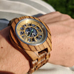 Load image into Gallery viewer, The Hawk (Zebrawood)