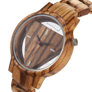 The Kestrel (Zebrawood)