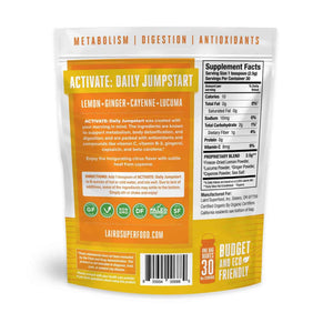 Laird Organic ACTIVATE Daily Jumpstart - COSUBE