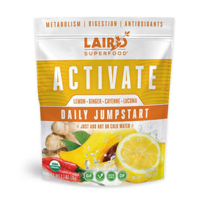 Laird Organic ACTIVATE Daily Jumpstart - COSUBE - Coffee Shop in Portland