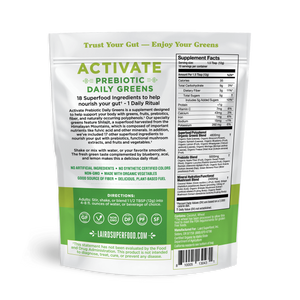 Laird Activate Prebiotic Daily Greens - COSUBE