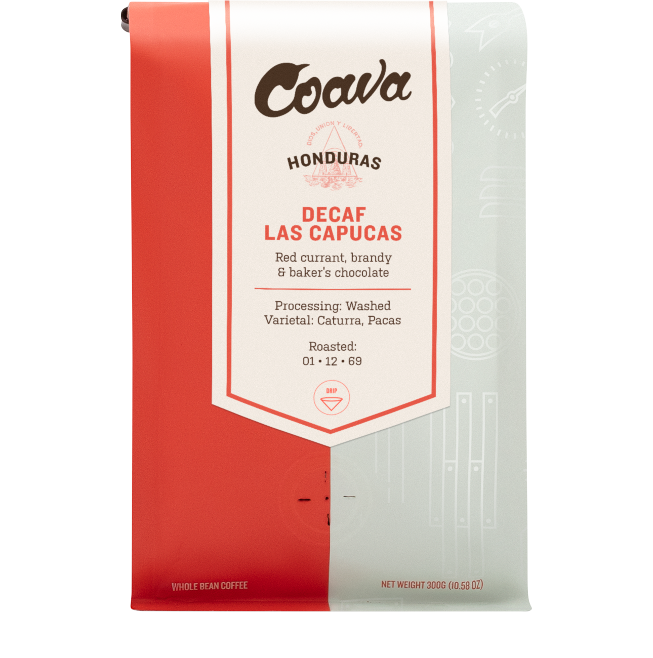 Decaf Las Capucas - Whole Bean