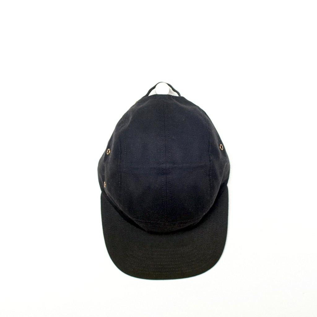 Euclid 5 Panel - Black Waxed Canvas
