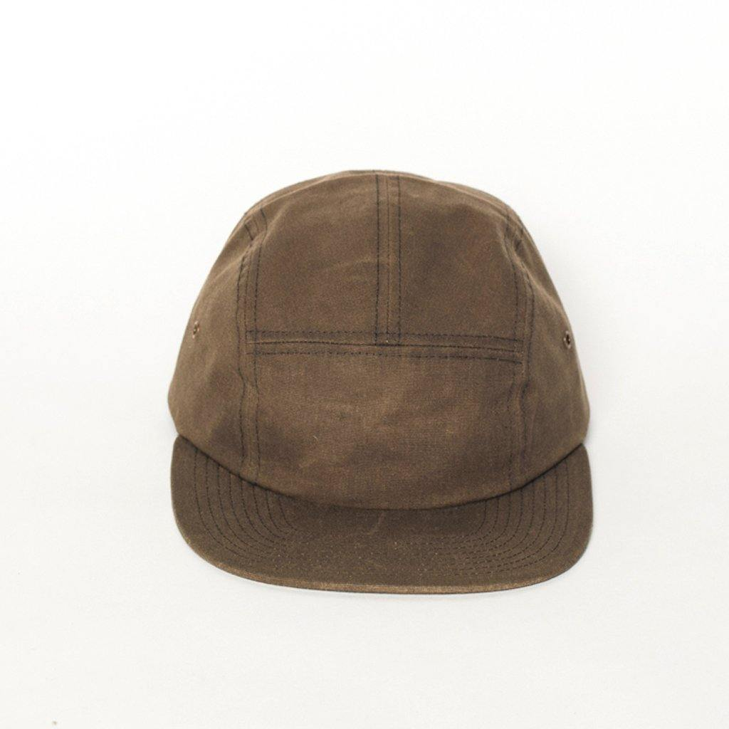 Euclid 5-Panel Olive Waxed Canvas