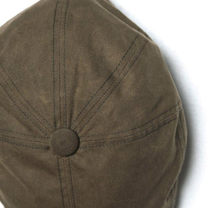 LL Driver Cap - Olive Waxed Canvas