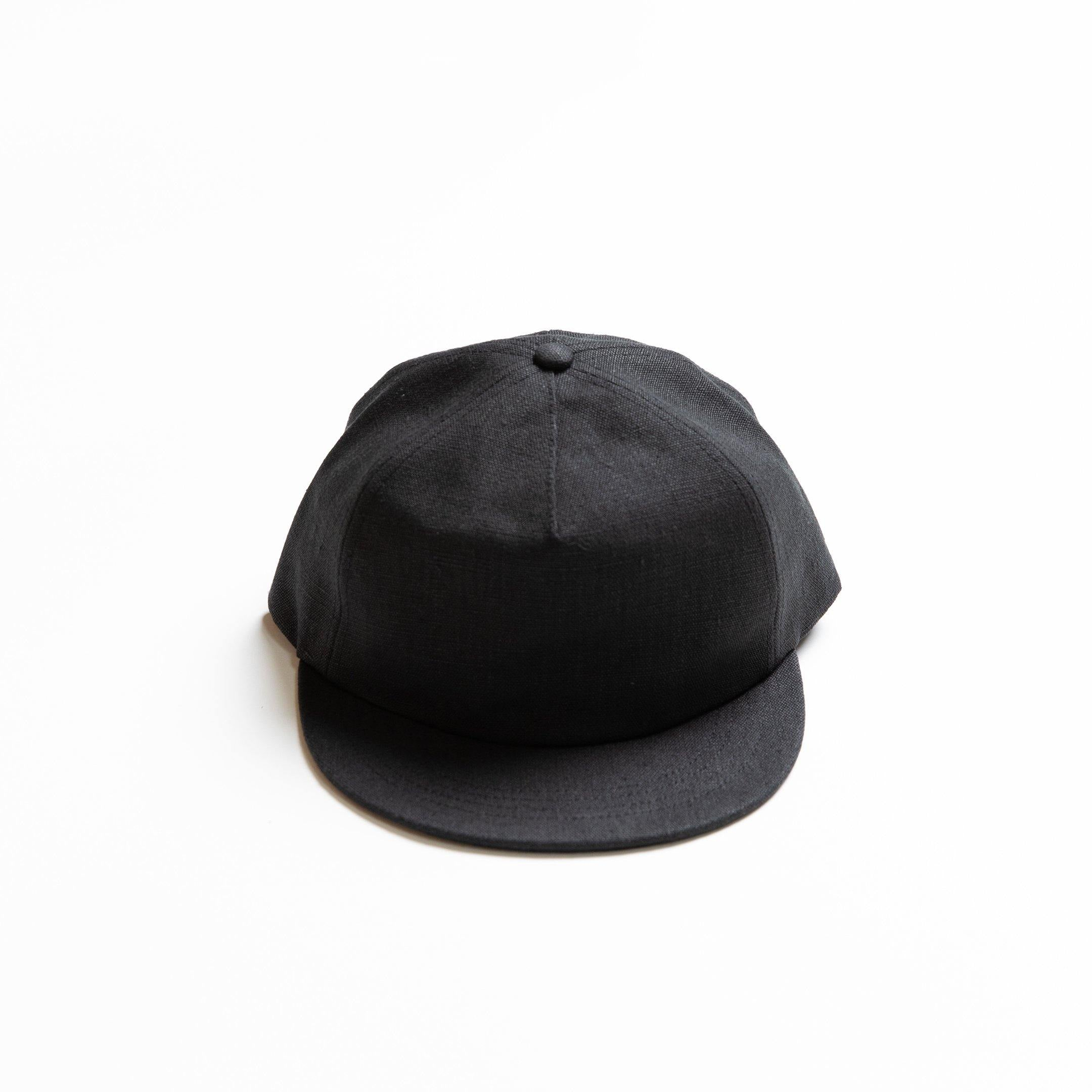 Reel Ball Cap - 100% Hemp - Black