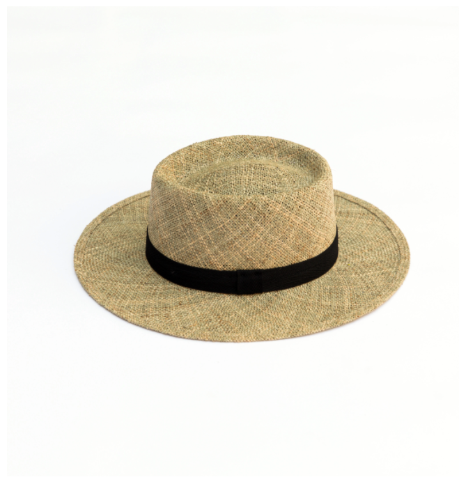 Neil Seagrass Straw - Natural Tan
