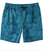 Load image into Gallery viewer, Surftrek Perf Elastic Walkshorts - Dark Teal Tie Dye - COSUBE