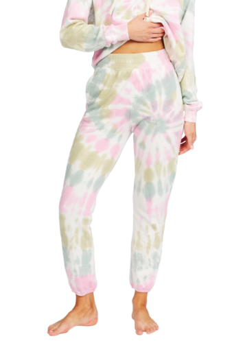 Casual Coast Tie Dye Sweatpants - Salt Crystal - COSUBE