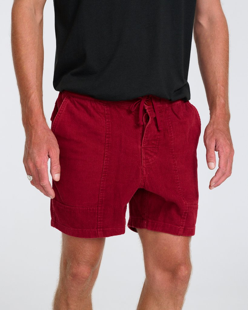All Day Walkshort - Washed Red