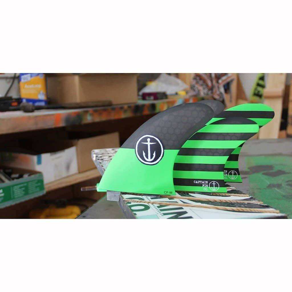 CF-Five Fin - Medium/Green