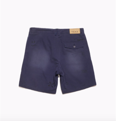 Drop Out Walk Short - Navy - COSUBE