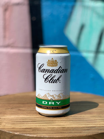 Canadian Club Whisky & Dry - 4 Pack/Carton
