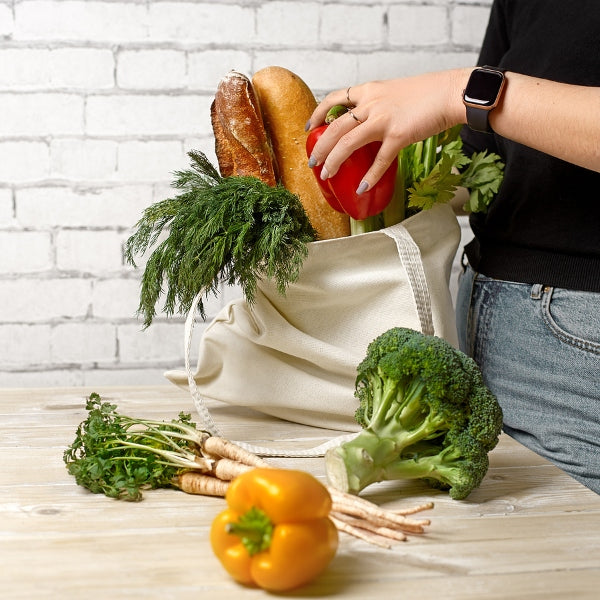 Vegetables in Cotton Tote Bag