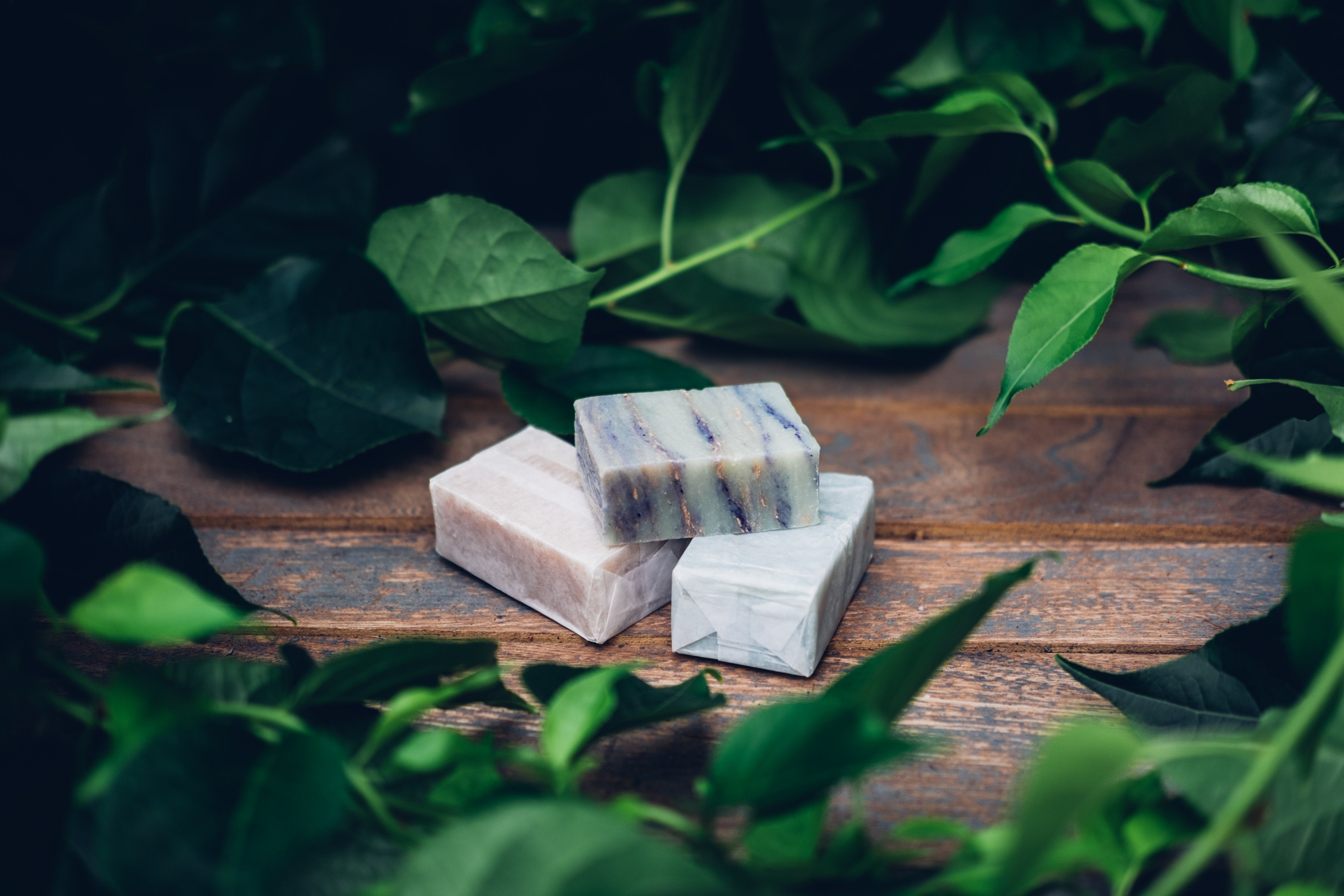 Zero-Waste Shave Soap Bars