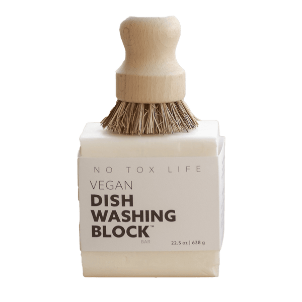 Dish Washing Block - Vegan - Zero Waste Outlet