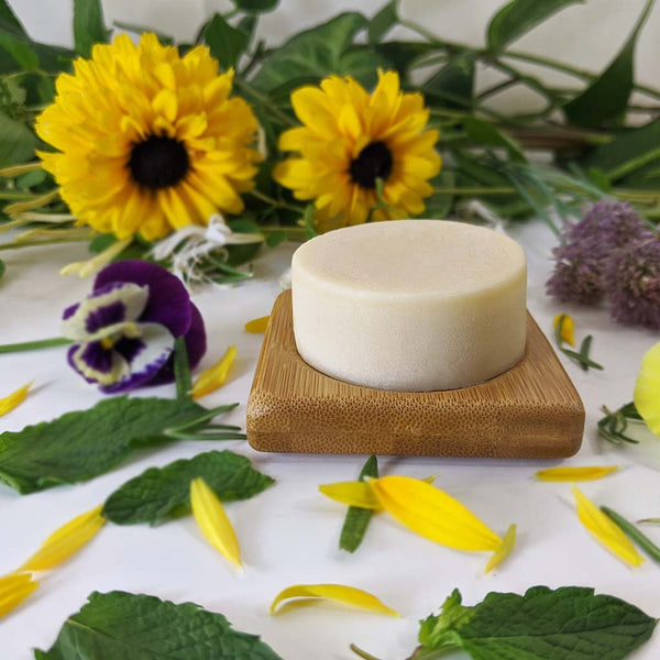 Rosemary Mint Hair Conditioner Bar - Plant Based/VEGAN - Zero Waste Outlet