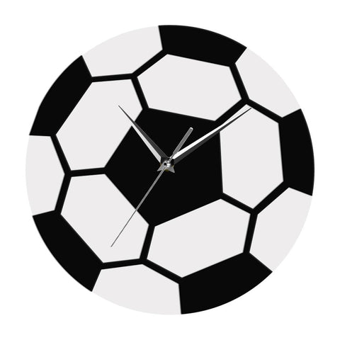 horloge murale design ballon de foot