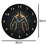 horloge murale design homme fort dimension