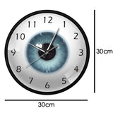 horloge murale design oeil dimension
