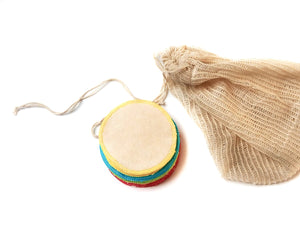 Organic Make Up Remover Wipes & Washbag