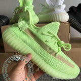 2019 Black Kanye West With Box New Antlia Static Reflective Clay Running Shoes Classic Cream White Men Women Designer Sneakers 36-48