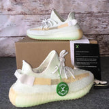 Cloud White Citrin Antlia Synth Lundmark Black Static GID Clay Cream White Zebra running shoes Kanye West mens designer shoes