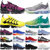 TN Plus Geometric Active Fuchsia Black Mens Women Running Shoes Grid Print Lemon Lime Bumblebee Game Royal Trainers Sports Sneakers 36-45