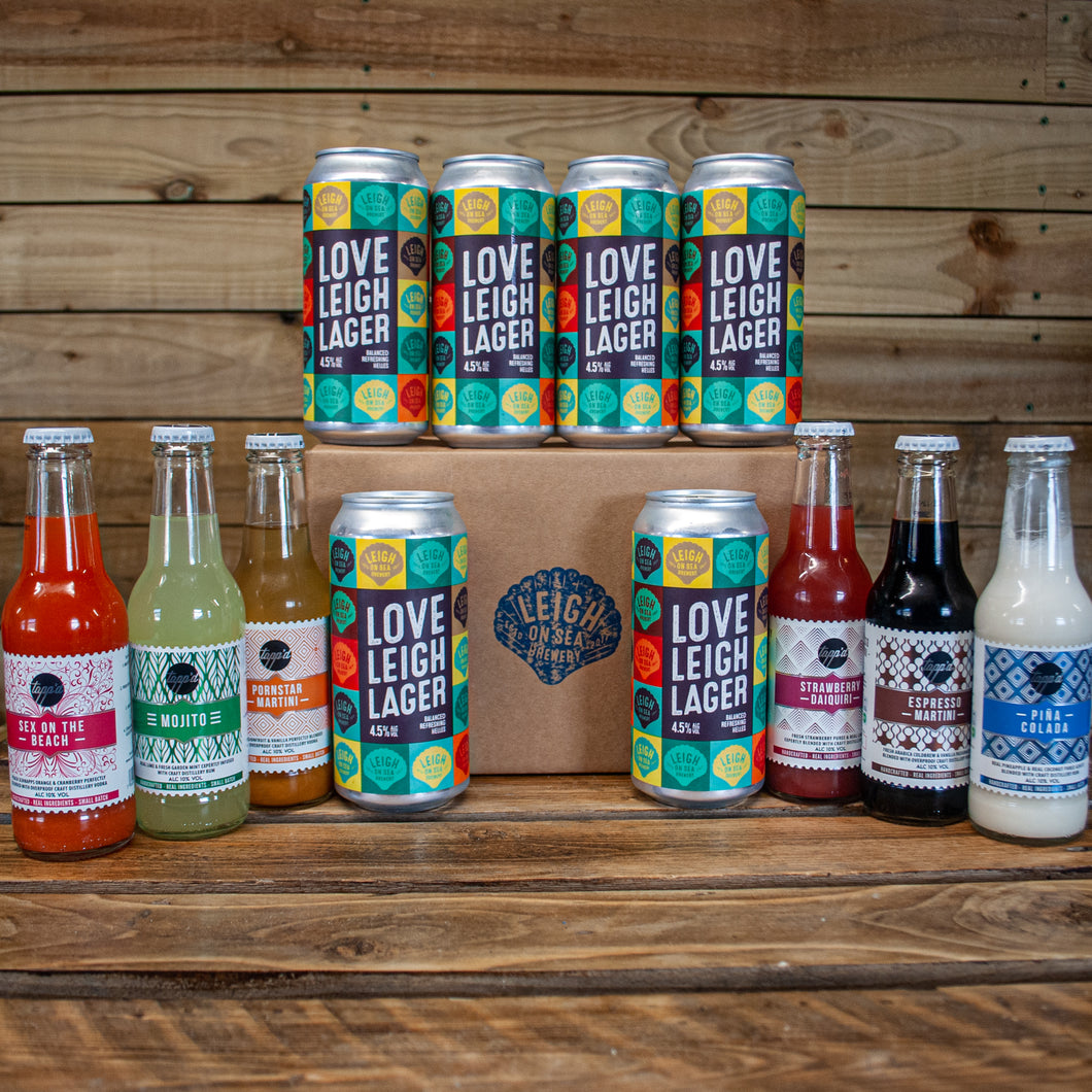 "Love Leigh Lager 'n' Cocktails - ""Made in Leigh-on-Sea"" Lockdown pack 2"