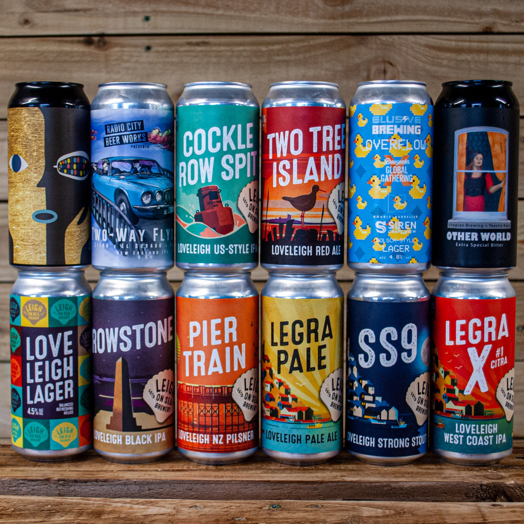 #Tryanuary Brewers Choice 12 Mixed Can Box 1