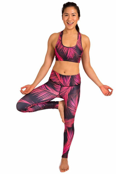 INNER FIRE - Palm Sunset Leggings