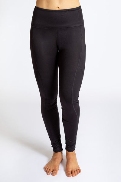INNER FIRE - Pocket Legging Tree Black