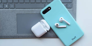 AirPods étui de chargs casque bluetooth sans fil pour iPhone et Android