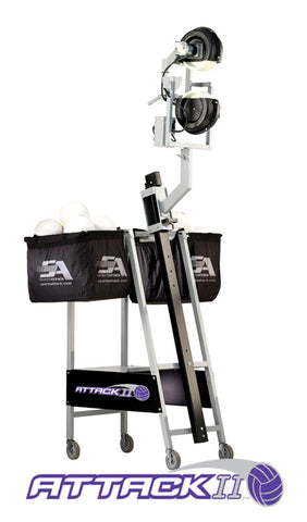 Attack II Volleyball Pitching Machine by Sports Attack