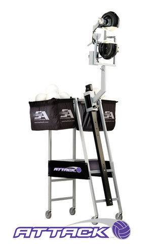 Attack Volleyball Pitching Machine by Sports Attack