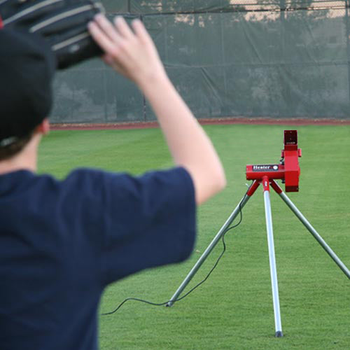 Heater Real Baseball Pitching Machine