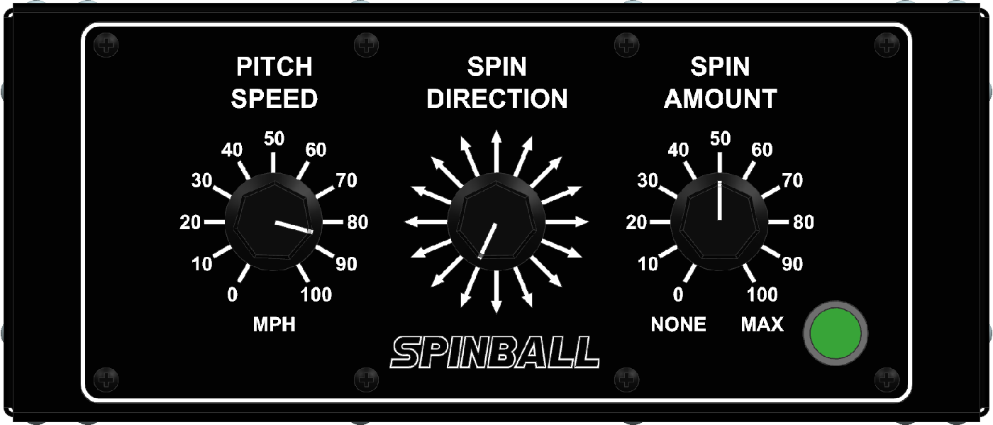 Spinball Wizard 3 Wheel Pitching Machine