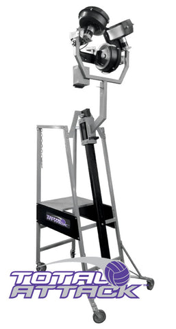 Total Attack 3-Wheel Volleyball Pitching Machine by Sports Attack