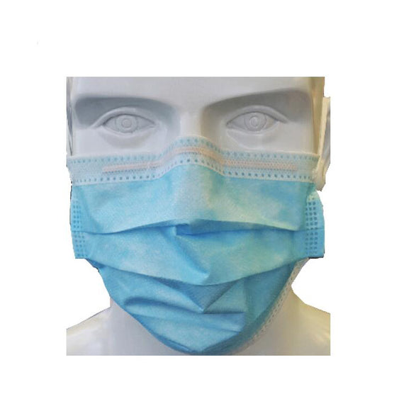 Brand of MedmaskPro 3-Ply Medical Mask, Level 2, 100pcs/Box, $8.95/50pcs, 992228, 992229