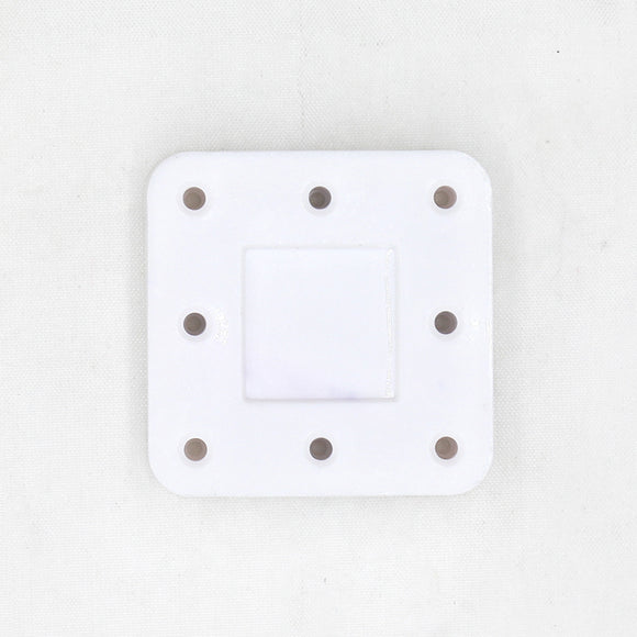 8 Holes Bur Block - Magnetic & Autoclavable